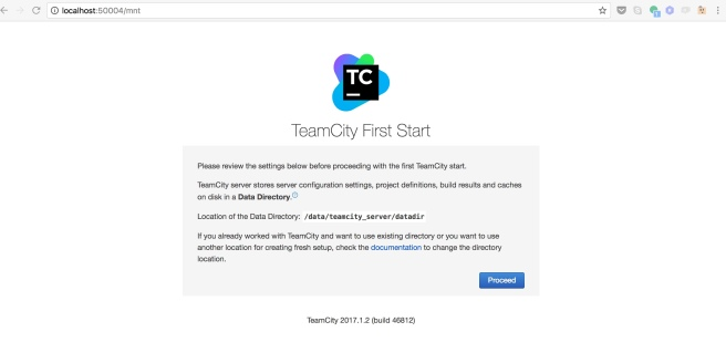 TeamCity running on Docker – continuous learning …